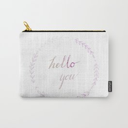 Hello You! Carry-All Pouch