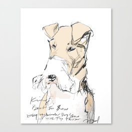 OPD King Best In Show Canvas Print