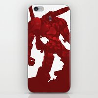 coyote iPhone & iPod Skins featuring Coyote by ChrisLufthound