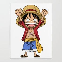 Monkey D. Luffy Poster