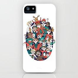 Christmas Kiddiwinks iPhone Case