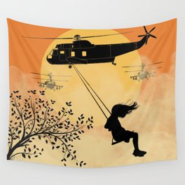 Nothing has changed Wall Tapestry