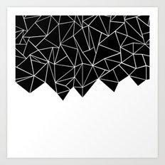 Ab Triangulation Art Print