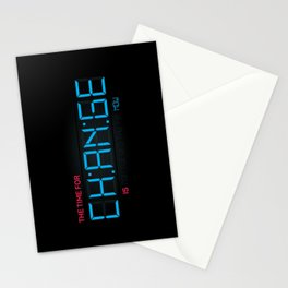 CH:AN:GE Stationery Cards