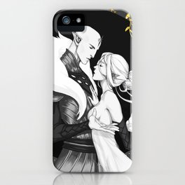 The heart of the wolf iPhone Case
