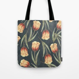 Tulipa pattern 1 Tote Bag