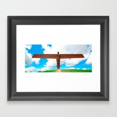 Angel of the North Framed Art Print