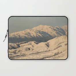 Winter Snow in the Mountains Laptop Sleeve