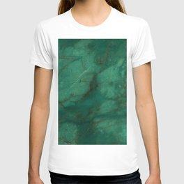 Hunter Green Marble T-shirt