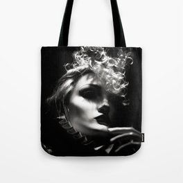 Woman Fashionista Tote Bag