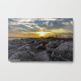 Sunset at Gallagher Beach, Buffalo Metal Print