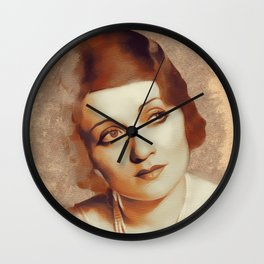 Constance Bennett, Hollywood Legend Wall Clock