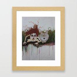Where We Belong  Framed Art Print