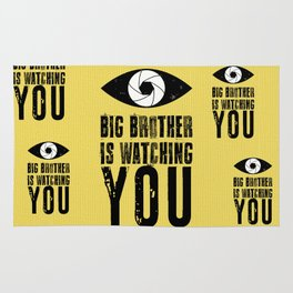 Big Brother is Watching YOU! Rug
