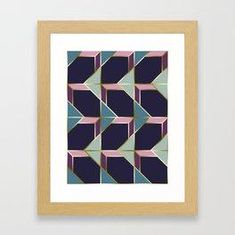 Ultra Deco 3 #society6 #ultraviolet #artdeco Framed Art Print