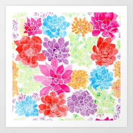 Garden by Offhand Designs Art Print
