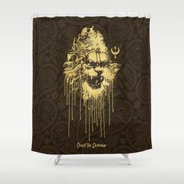 Crush The Demoniac Shower Curtain