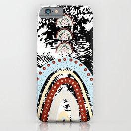 Rainbow grange iPhone Case