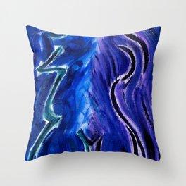 juxtapose Throw Pillow