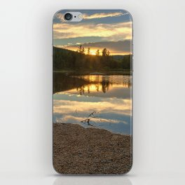 Lily Pond Sunset iPhone Skin