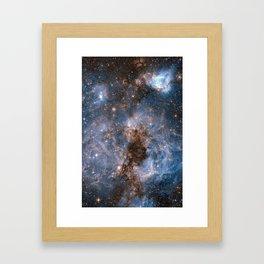 GALACTICAL STORM Framed Art Print