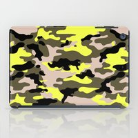 camouflage iPad Cases featuring camouflage by RIZA PEKER