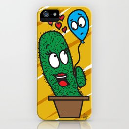 Spiky love iPhone Case