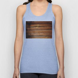 Rustic Wooden Planks  Wood Board Country Gifts Unisex Tank Top