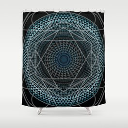 Portal in Consciousness Shower Curtain