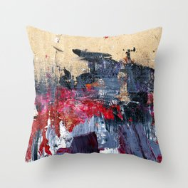 Accidental Abstraction 3 Throw Pillow