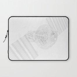 Explorer White and Grey Laptop Sleeve