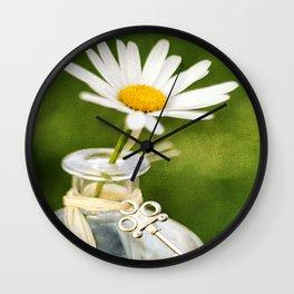 Love Me Love Me Not Wall Clock
