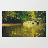 rowing Area & Throw Rugs featuring Rowing by nature by Eduard Leasa Photography