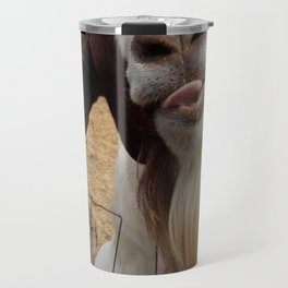Goat Smiles Travel Mug
