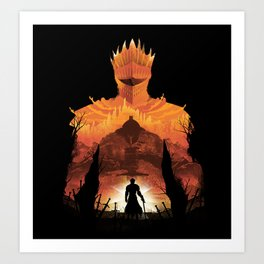 Time to Praise the Sun Art Print