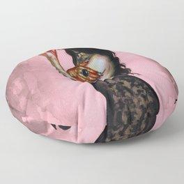 Queen of clubs Floor Pillow