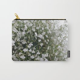 Tangles of Whites Carry-All Pouch
