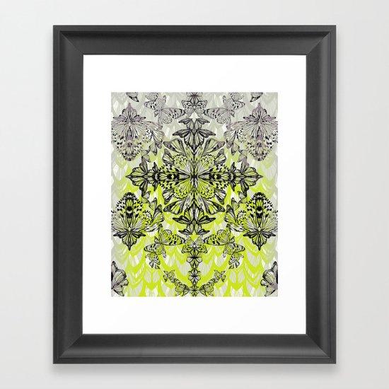 Butterfly Tail Framed Art Print