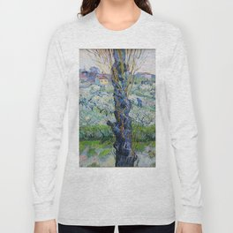 """Vincent Van Gogh """"View of Arles, Flowering Orchards"""" Long Sleeve T-shirt"""