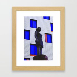 Scultpure Framed Art Print