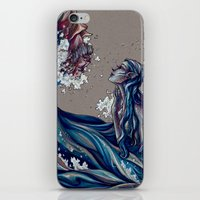 siren iPhone & iPod Skins featuring Siren by 1 of Many Laurens