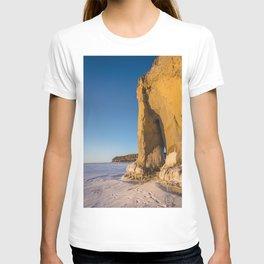 Winter, Lake Sakakawea, North Dakota T-shirt
