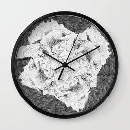 Follow the bear Wall Clock