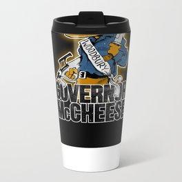 Governor McCheese Metal Travel Mug