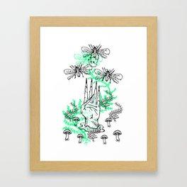 Рыба Framed Art Print