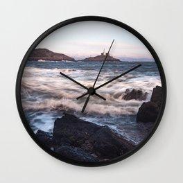 Mumbles lighthouse Gower Wall Clock