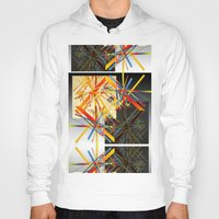 fireworks Hoodies featuring Fireworks by MZ Designs