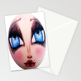The Face of Pearlia Diamanté Stationery Cards