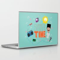 old school Laptop & iPad Skins featuring OLD SCHOOL!  by Claudia Ramos Designs
