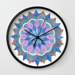Mandhala Wall Clock